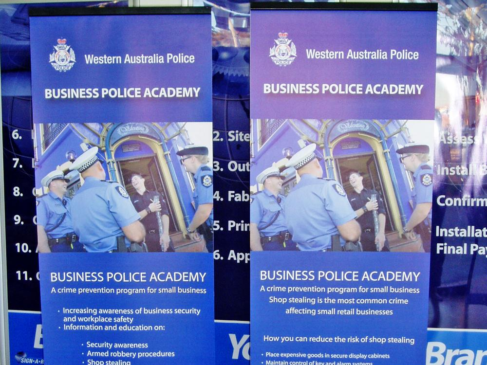 Pop Up Banners or Pull Banners Perth