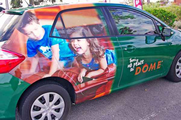 Vehicle Fleet Signage for Dome Perth