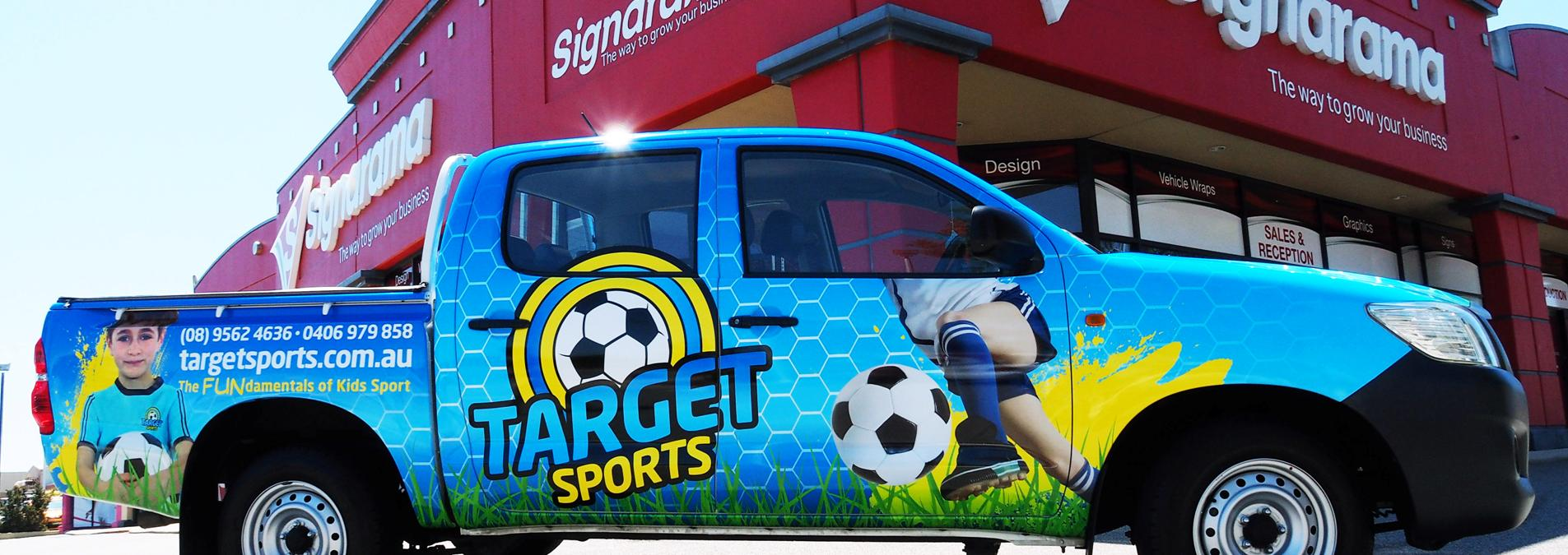 car wraps & vehicle signage perth